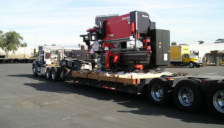 Press Break, Heavy equipment machinery