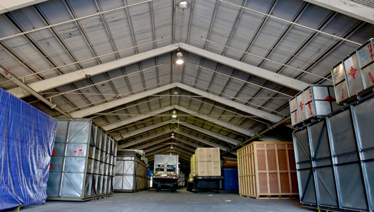 heavy equipment storage