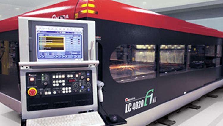 Installation of AMADA Laser cutter